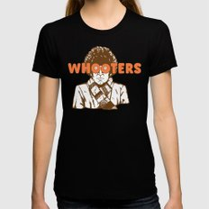 Whooters Womens Fitted Tee LARGE Black