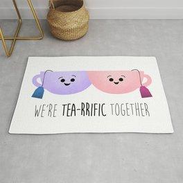 We're Tea-rrific Together Rug