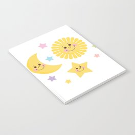 Sun and Moon Notebook