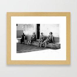 Italian Beauties.  Framed Art Print