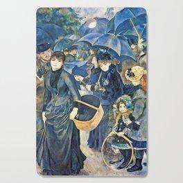 Auguste Renoir  -  The Umbrellas Cutting Board