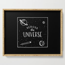 Across the universe #2 Serving Tray