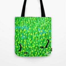 Two Black Cats Tote Bag