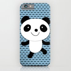 Panda, blue background iPhone 6s Slim Case