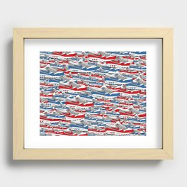 Air Max All Over Recessed Framed Print
