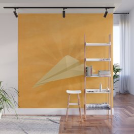 Paper Airplane 116 Wall Mural