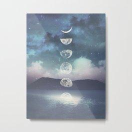 Rising Moon Metal Print