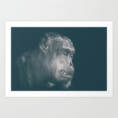 In Deep Thought Art Print