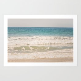 Beach Waves Art Print