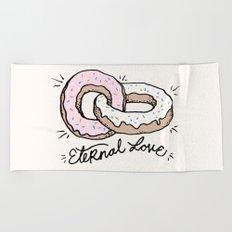 ETERNAL LOVE Beach Towel