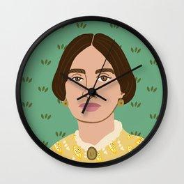 Emily Dickinson Wall Clock