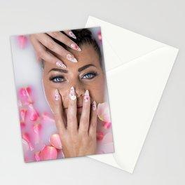 Milk Bath Beauty Stationery Cards