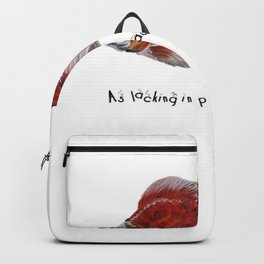 As Lacking In Privacy As A Goldfish Backpack