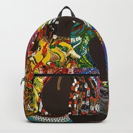 African Muslima Queens by Kelly Izdihar Crosby Backpack