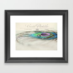 Postcard from the Edge Framed Art Print