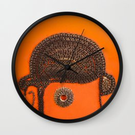 002: Clockwork Orange - 100 Hoopties Wall Clock