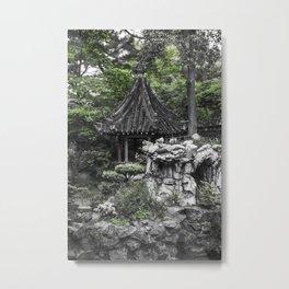 Colorless Shanghai1 Metal Print
