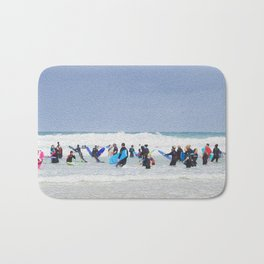 SURF SPACE Bath Mat