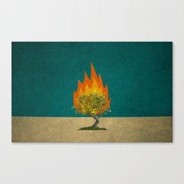 Exodus 3:2 Canvas Print