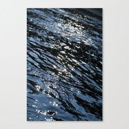 Sparkling River Canvas Print