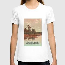 Grundy Lake Provincial Park Poster T-shirt