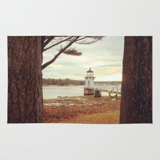 Doubling Point - Maine Lighthouse Rug