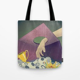 Looking  for the perfect beat Tote Bag