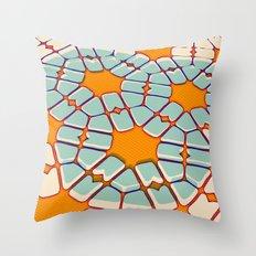Retro texture Throw Pillow