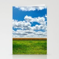 toy story Stationery Cards featuring Toy Story Cloud Day by Greg Hogan
