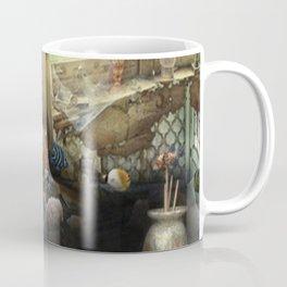 Mermaid underwater life surrealism digital art Coffee Mug