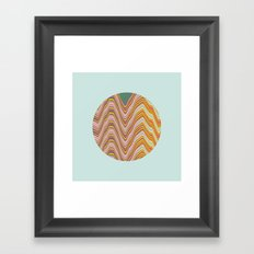 Fade A02 Framed Art Print