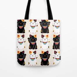 Maneki Neko - Lucky Cats Tote Bag