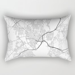 Minimal City Maps - Map Of New Haven, Connecticut, United States Rectangular Pillow