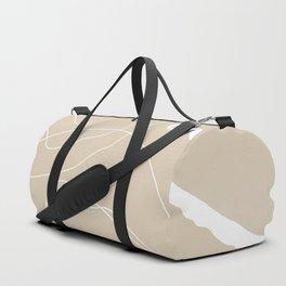 Minimalistic Lines Duffle Bag
