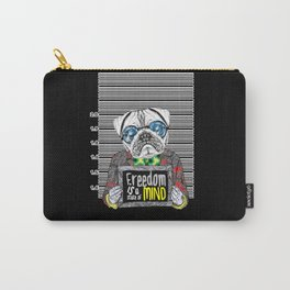 Pug quotes Freedom Carry-All Pouch