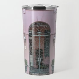 The Pink House Travel Mug