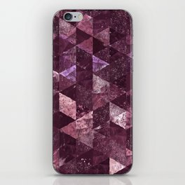 Abstract Geometric Background #24 iPhone Skin