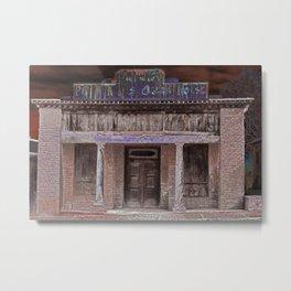 The Old Pino Altos Opera House Metal Print