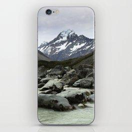 Mount Cook iPhone Skin