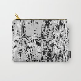 Black and White in the wind Carry-All Pouch