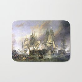 The Battle of Trafalgar Bath Mat