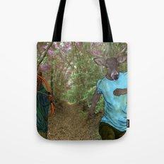 Bear Bow Hunting Tote Bag