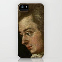 Wolfgang Amadeus Mozart (1756 -1791) by Joseph Lange iPhone Case