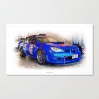 subaru Canvas Prints featuring Cars: Subaru Liberty STI by Urbex :: Siam