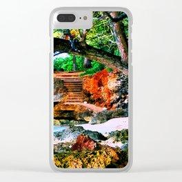 Step Rock Clear iPhone Case