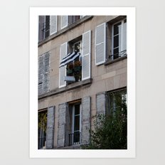 Parisian Awning Art Print