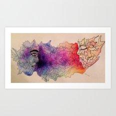 connectivity Art Print