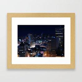 Big City Dreams Framed Art Print