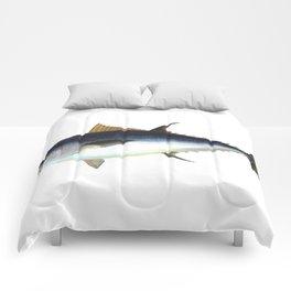 Bluefin Tuna illustration Comforters