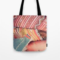 moroccan Tote Bags featuring Moroccan by Paint Pattern Photo